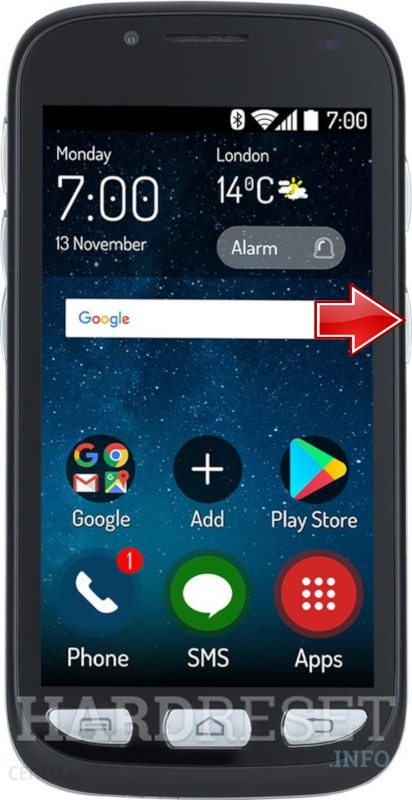 Remove Screen Lock on MAXCOM MS459 Harmony