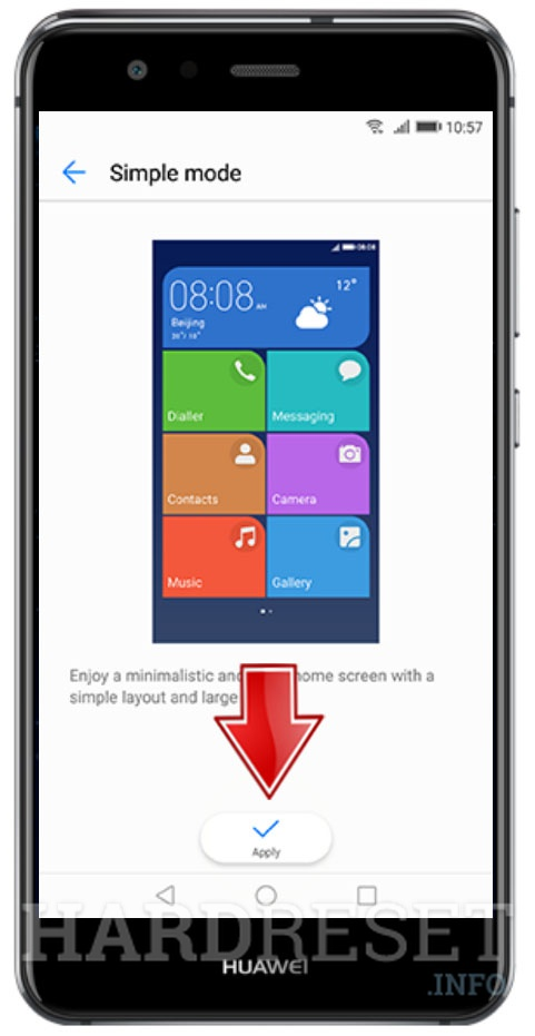 How to activate Simple Mode in my HUAWEI Y336-U02?, how to - HardReset.info