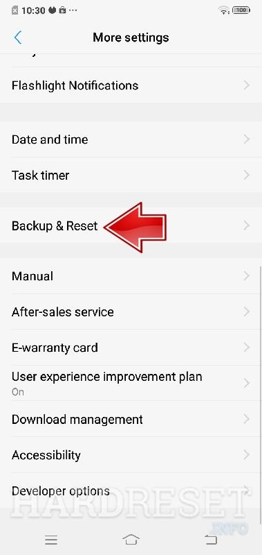 Reset Network Settings VIVO Y55S - HardReset info