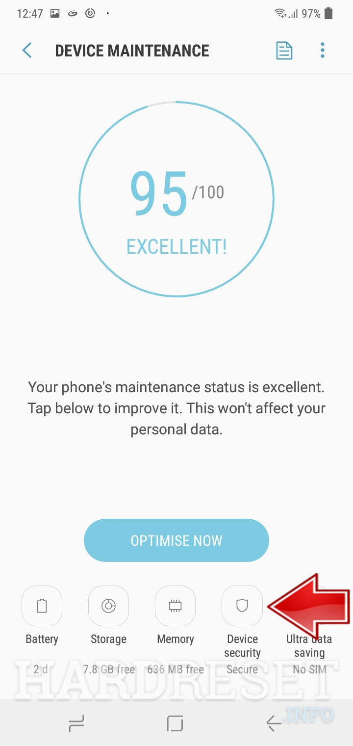How To Perform A Virus Scan On Samsung Galaxy A50 How To Hardreset Info