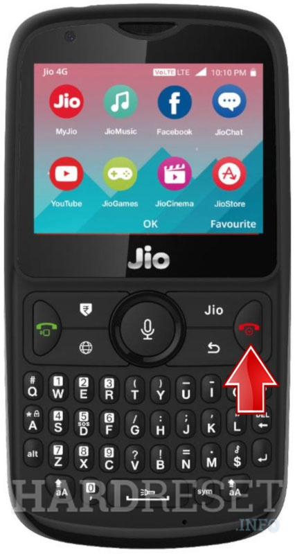 Hard Reset LYF Jio Phone 2