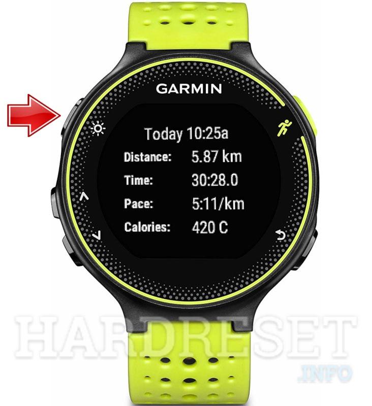 Soft Reset GARMIN Forerunner 235 - HardReset info