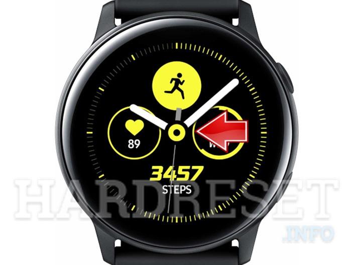 Change Watch Face SAMSUNG Galaxy Watch Active - HardReset info