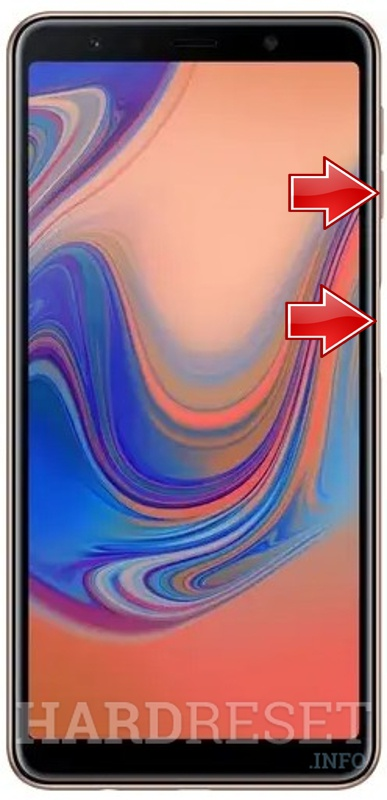 Wipe data on SAMSUNG Galaxy A50