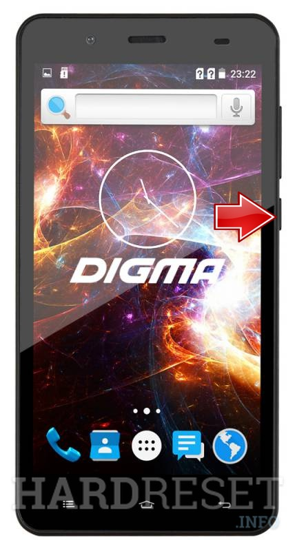 Hard Reset DIGMA Vox S504 3G