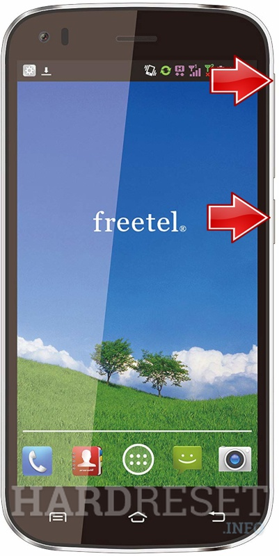 Factory Reset FREETEL Nico