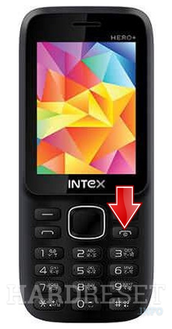 Wipe data on INTEX Hero+