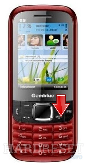 Factory Reset GEMBLUE G9