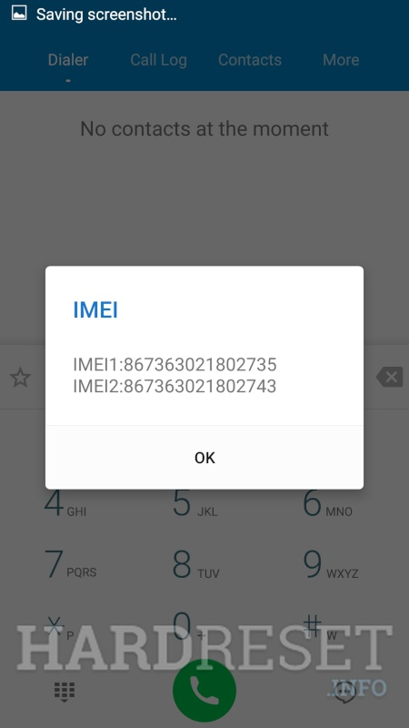 "LENOVO Tab3 10"" Business IMEI info"