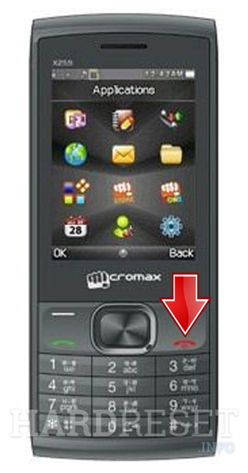 promo code 4f052 7af55 How to Soft Reset my phone - MICROMAX X908 - HardReset.info