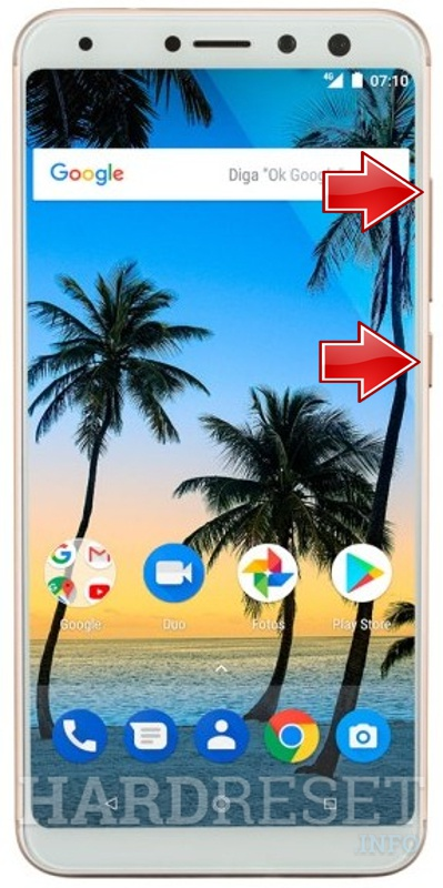 Remove Screen Lock on MULTILASER MS80