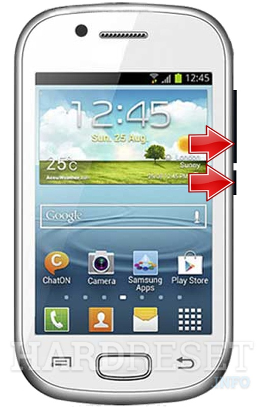 Remove screen password on GFIVE A2