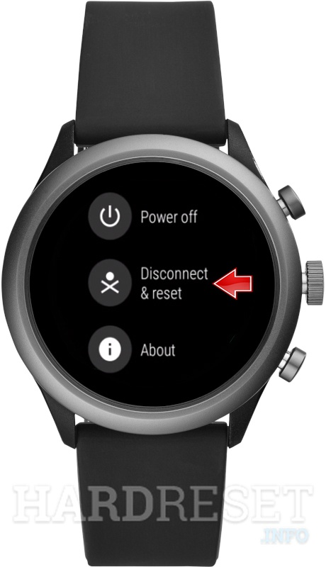 Master Reset FOSSIL Sport Smartwatch