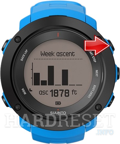 Wipe data on SUUNTO Ambit3 Vertical
