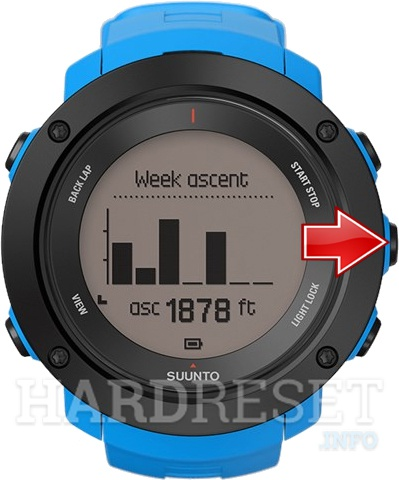Remove Screen Lock on SUUNTO Ambit3 Vertical