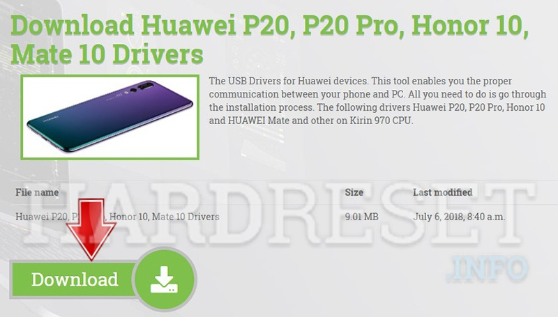 How to install Huawei Drivers on computer with Windows OS