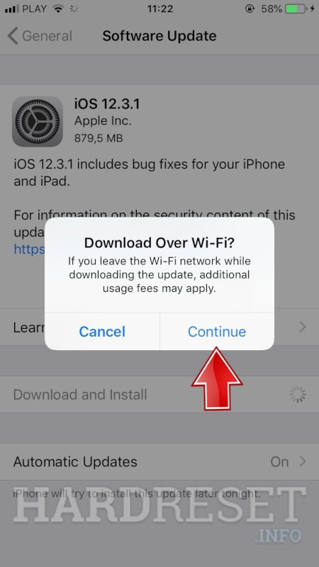 updating apple iphone 3g