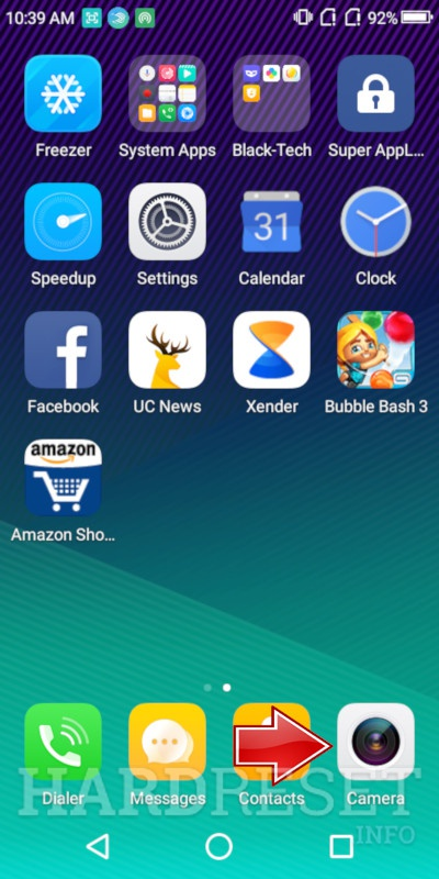 Home screen INTEX Aqua Jewel 2