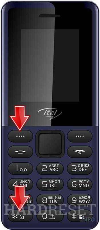 How to Hard Reset my phone - ITEL IT2161R - HardReset info