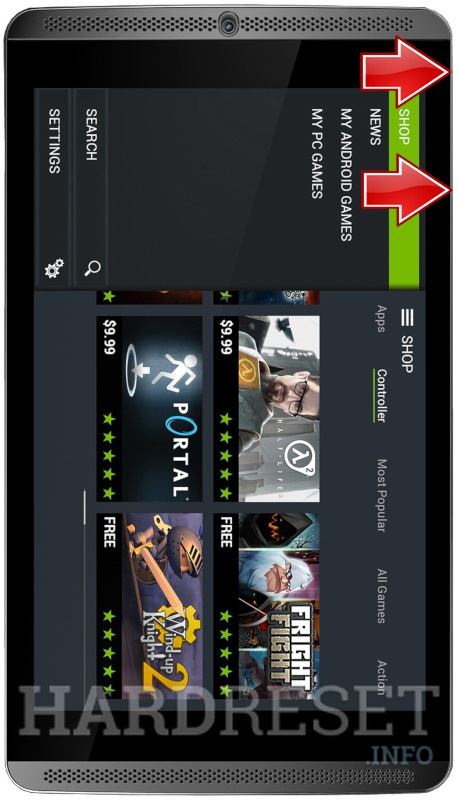 移除NVIDIA Shield Tablet 3G/LTE上的屏幕锁