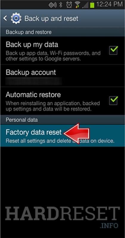 Factory Reset NVIDIA Shield Tablet 3G/LTE - HardReset info