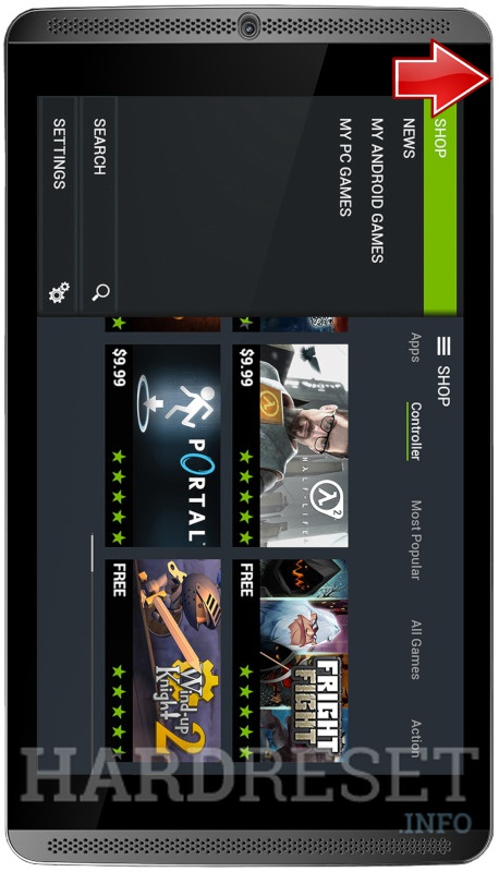 删除NVIDIA Shield Tablet 3G/LTE上的屏幕密码