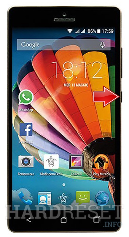 Hard Reset MEDIACOM Phonepad Duo S510
