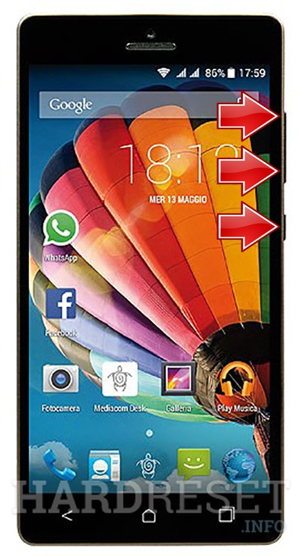 Factory Reset MEDIACOM Phonepad Duo S510
