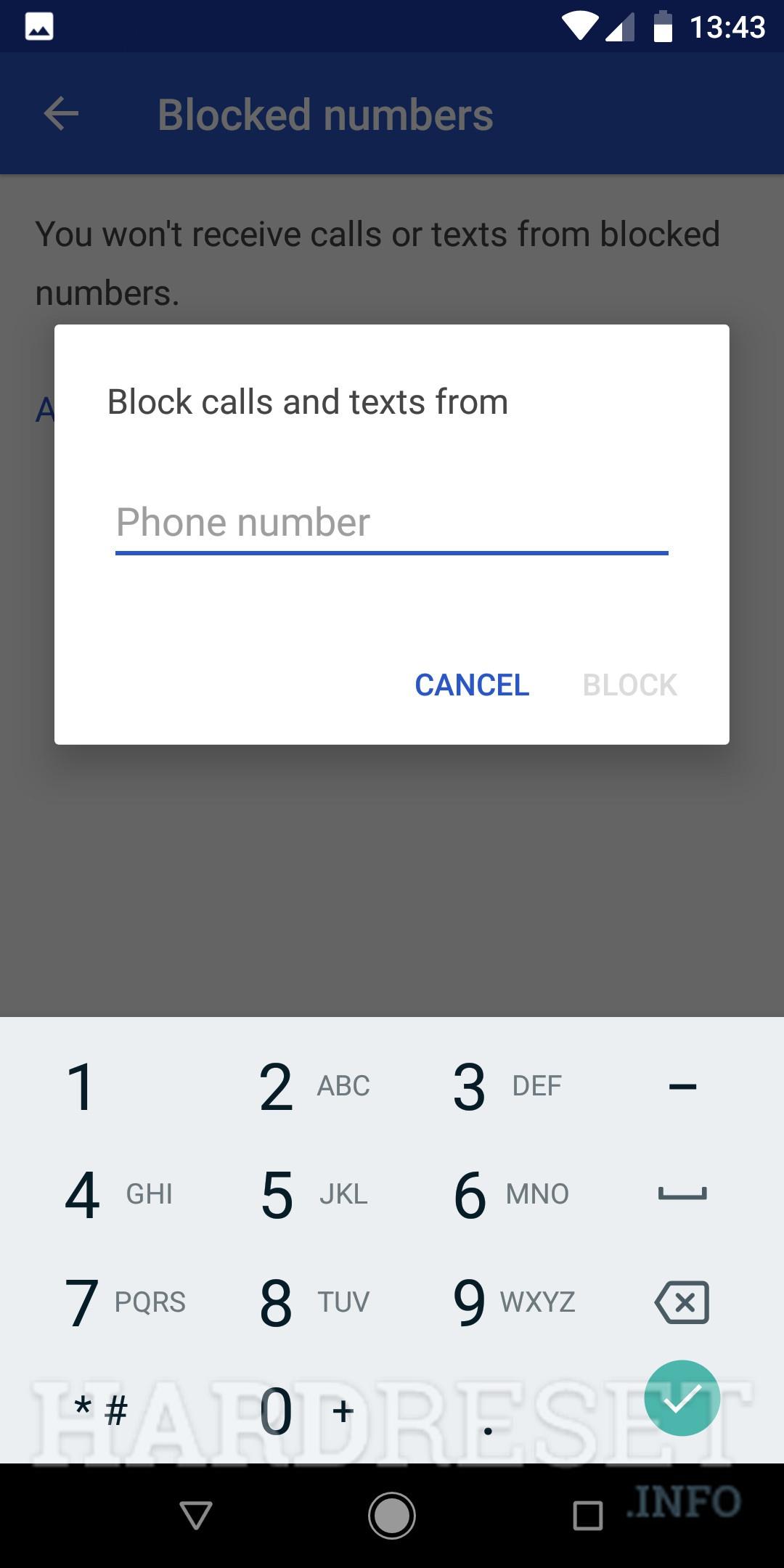 Block Number XIAOMI Redmi Note 8 - HardReset info