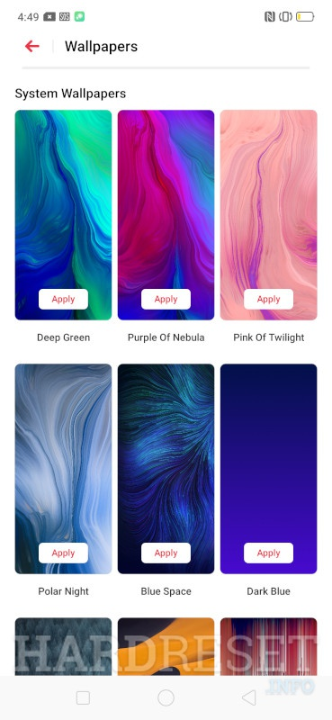 Change Wallpaper Oppo A5 2020 How To Hardreset Info