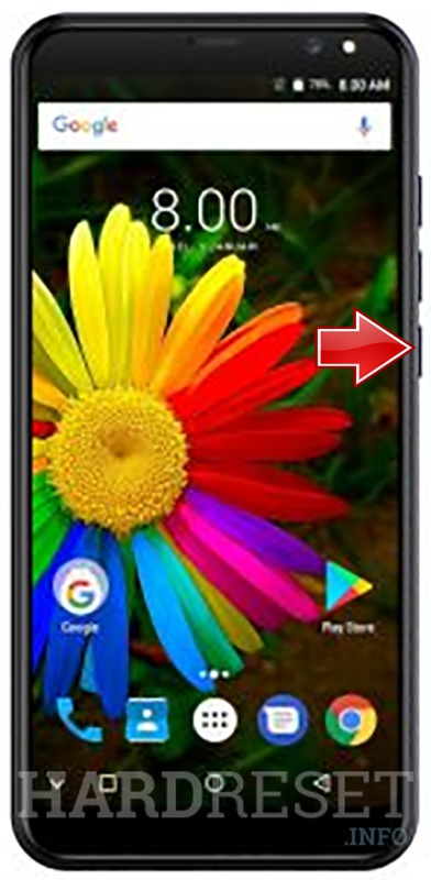 Remove screen password on MITO S1