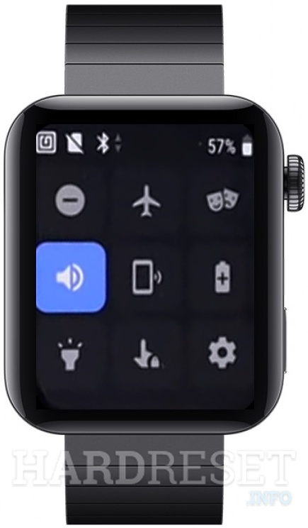 XIAOMI Mi Watch  Quick pannel