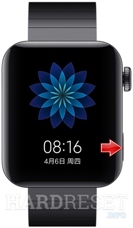 XIAOMI Mi Watch Power button
