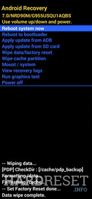 BLU Advance L5 Recovery reboot system now