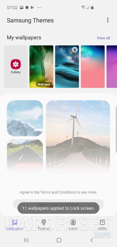 Change Wallpaper Samsung Galaxy A51 How To Hardreset Info