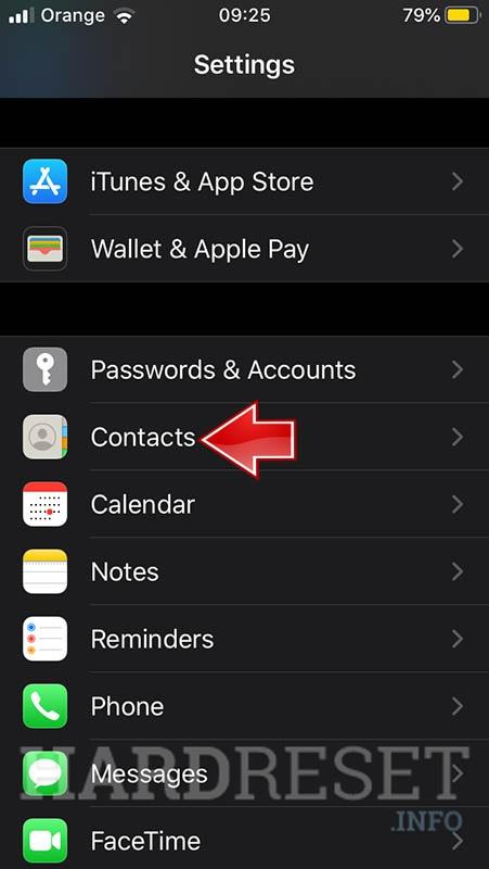 Comment Importer Des Contacts De La Carte Sim Vers Apple Iphone 4s Afficher Plus Hardreset Info
