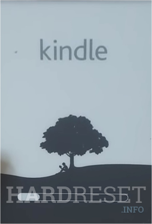 AMAZON Kindle Paperwhite 4 loading bar