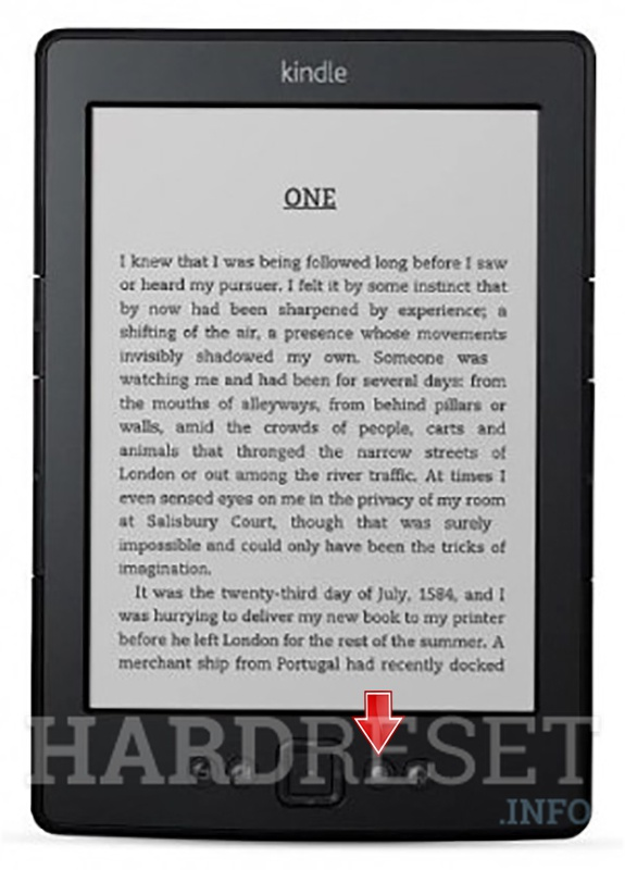 AMAZON Kindle 5 More button