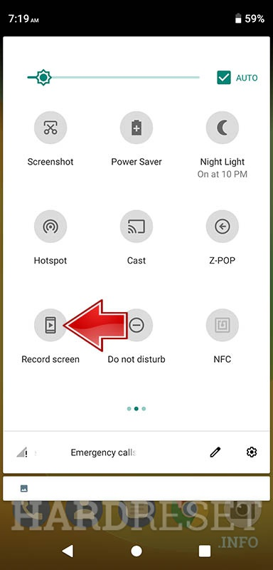 How To Start Recording Screen In Zte At T Trek 2 Hd K88 How To Hardreset Info