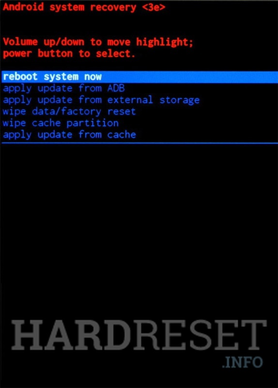 Factory Reset BUNDY MOBILE B-TOUCH7