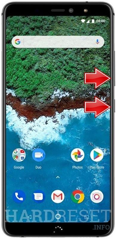 Captura De Pantalla Bq Aquaris X2 Pro Mostrar Más Hardreset Info