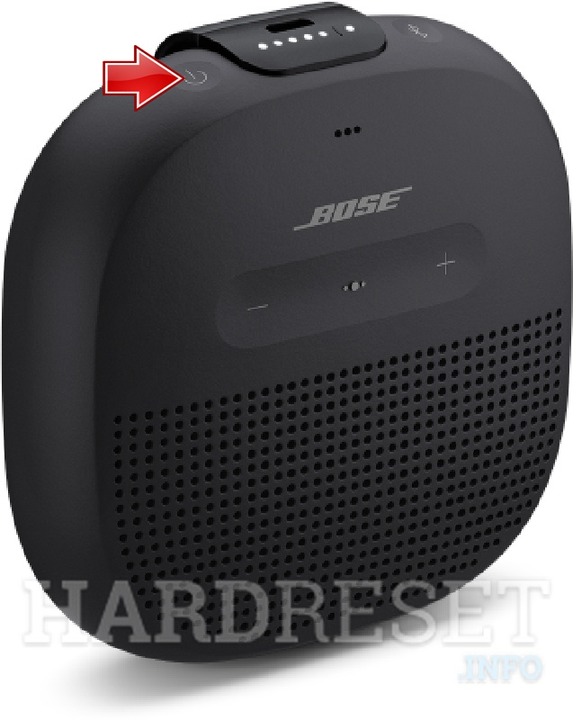 BOSE SoundLink Micro Power button
