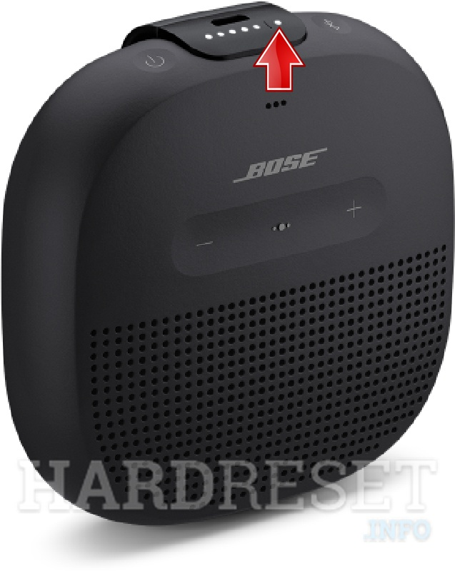 BOSE SoundLink Micro Bluetooth indicator