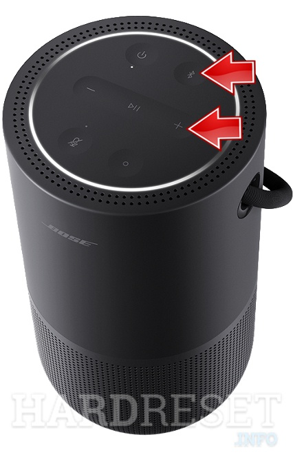 BOSE Portable Home Speaker Volume up button + Bluetooth button