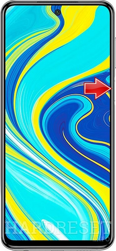 Remove screen password on XIAOMI Redmi Note 9s