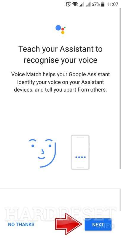 google home app voice assistant