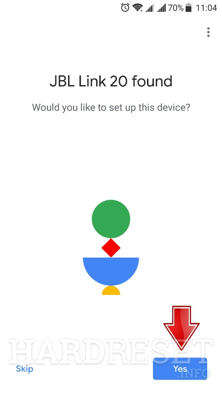 google home app device found
