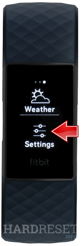 FITBIT Charge 4 Settings