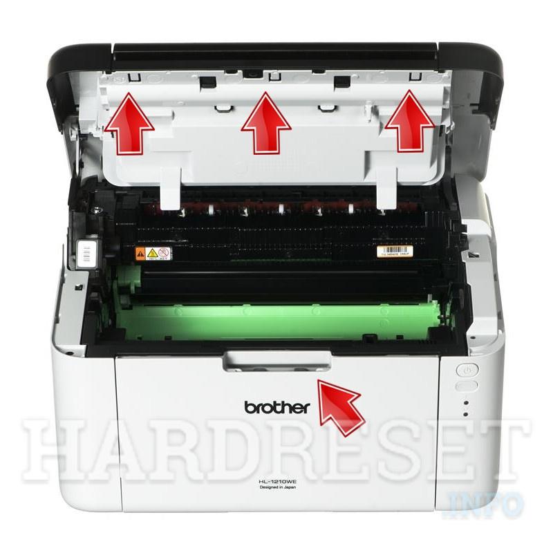 необходимости сброс фотобарабана на принтере бразер число это число