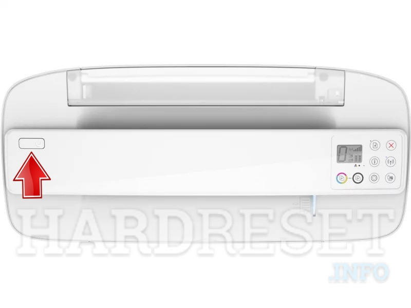 Hard Reset HP DeskJet Ink Advantage 3775